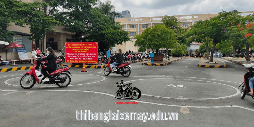 Sân Thi Bằng Lái Xe 2 Bánh Tại TPHCM